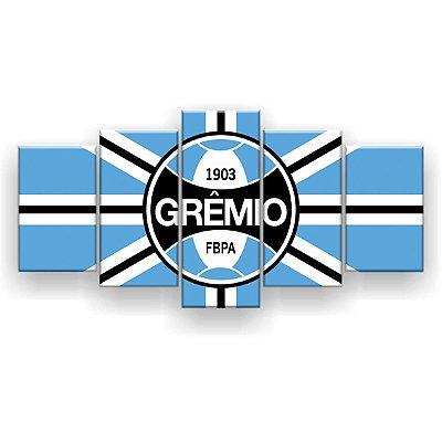 Quadro Decorativo Grêmio Futebol Clube 129x61 5pc