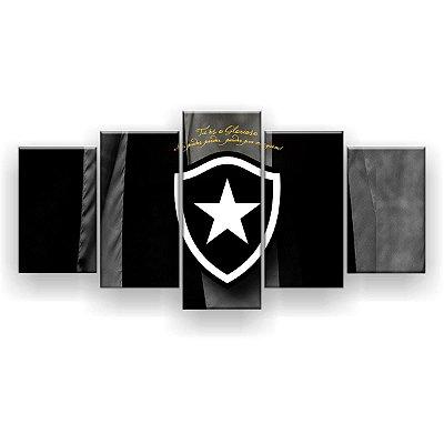 Quadro Decorativo Botafogo Futebol Clube 129x61 5pc
