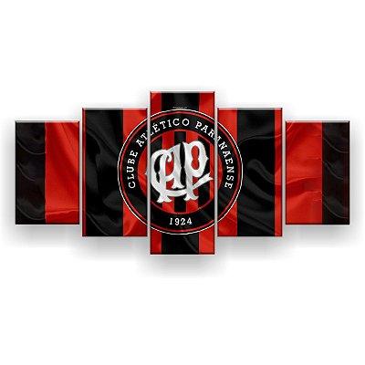 Quadro Decorativo Atlético Paranaense Futebol Clube 129x61 5pc