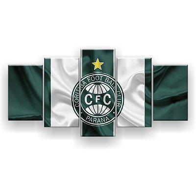 Quadro Decorativo Coritiba Futebol Clube 129x61 5pc