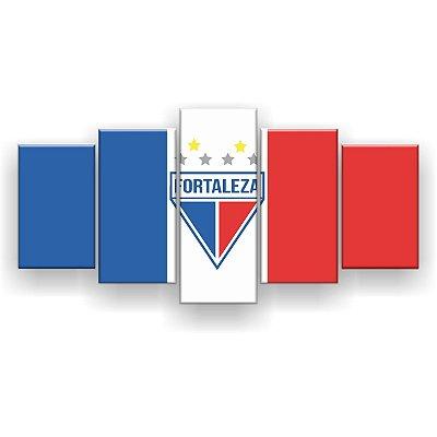 Quadro Decorativo Fortaleza Futebol Clube 129x61 5pc