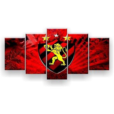 Quadro Decorativo Sport Futebol Clube 129x61 5pc