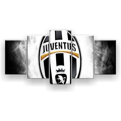 Quadro Decorativo Juventus Futebol Clube 129x61 5pc