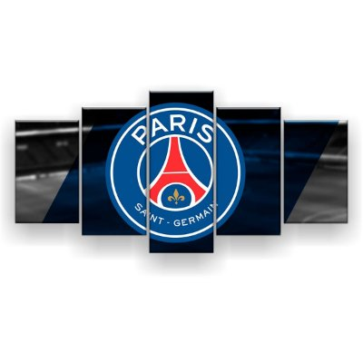 Quadro Decorativo Paris Saint-Germain Futebol Clube 129x61 5pc