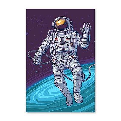 Quadro Decorativo Astronauta 20x30