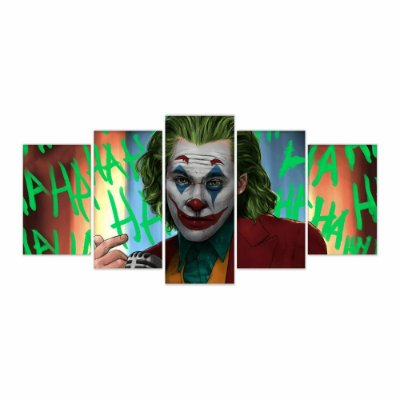 Quadro Decorativo Coringa 129x61 5pc
