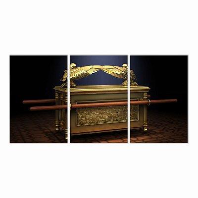 Quadro Decorativo Arca da Aliança 115x57 3pc