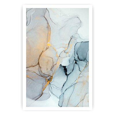 Quadro Decorativo Pedras Azuis 20x30
