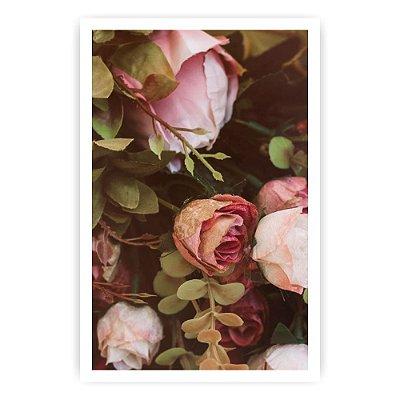 Quadro Decorativo Rosas 20x30