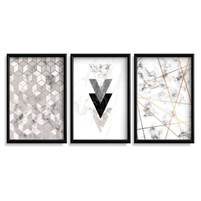 Quadro Decorativo Abstratos Geométricos