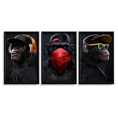 Quadro Decorativo Monkeys