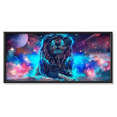 Quadro Decorativo Leão do Universo