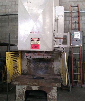 Prensa Excêntrica Freio Fricção MSL 200 tons