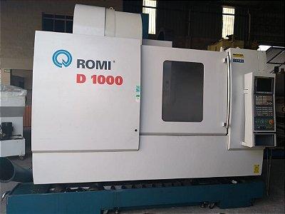 Centro de Usinagem Romi D1000