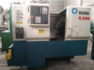 Torno CNC Romi G240
