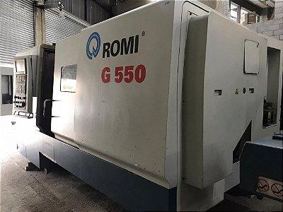 Torno CNC Romi G550