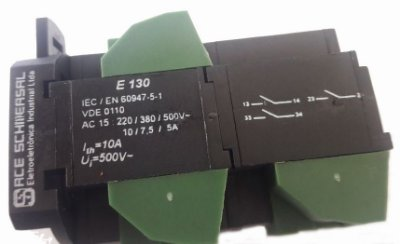 E130 BLOCO DE CONTATO 3NA 140063 SCHMERSAL