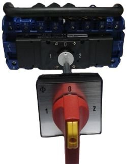 KG125.K900/BRA501.VE CHAVE DE ATERRAMENTO KRAUS & NAIMER