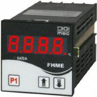 FHME102 PIRÔMETRO DIGITAL OU CONTROLADOR DE TEMPERATURA MICROPROCESSADO FHME102/220VCA/JKPT100 DIGIMEC
