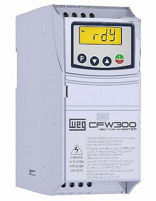 CFW300A04P2S2NB20 INVERSOR DE FREQUÊNCIA 1CV 220VCA MONOFÁSICO 13059321 WEG