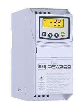 CFW300A02P6T4NB20 INVERSOR DE FREQUÊNCIA 1,5CV 380VCA TRIFÁSICO 14146822 WEG