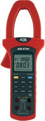 AW-4700 ALICATE WATTÍMETRO DIGITAL ICEL