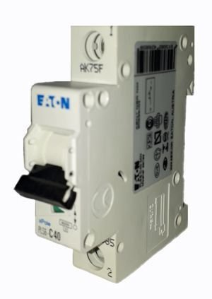 PLS6-C40/1-MW MINI DISJUNTOR 1P 40A 4,5KA CURVA C 242685 MOELLER EATON