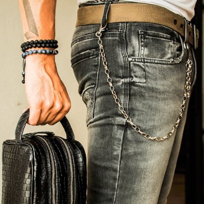 Corrente de Bolso Skul Chains