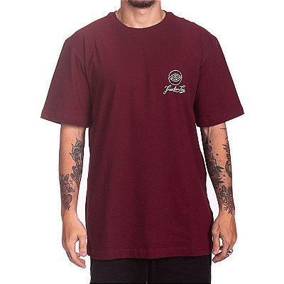 Camiseta Freedom Fog -  Logo vinho
