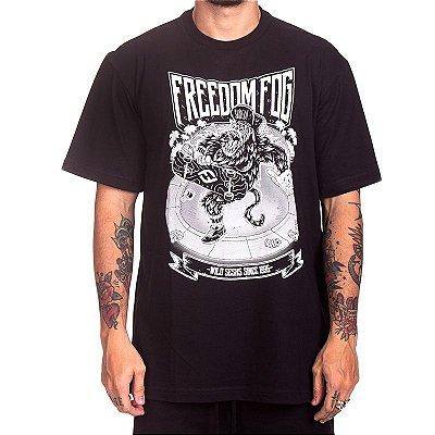 Camiseta Freedom Fog - Gorila Preta