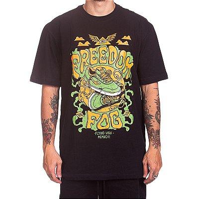 Camiseta Freedom Fog - Iluminati Preta