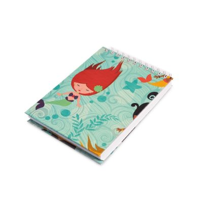 Caderno de Notas Wire-O Sereias
