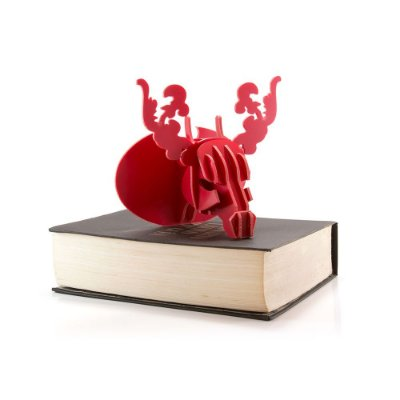 Mini Cabeça Alce Vermelha