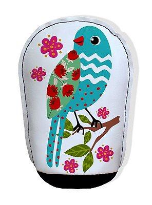 Almofada para Papel Pássaro Azul