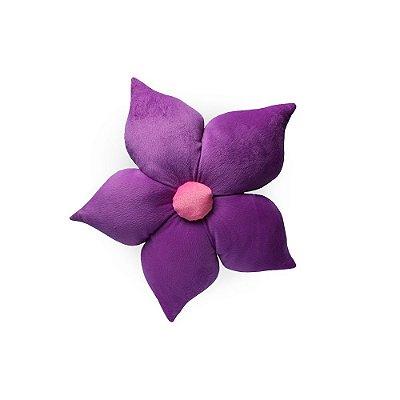 Almofada Flor Roxa
