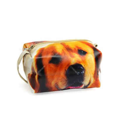 Necessaire Grande Cachorro Golden Retriever