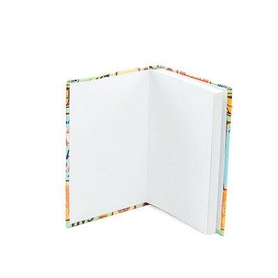Caderninho Capa Dura com Elástico Quinhentos