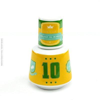 Moringa de Porcelana Brasil do Futebol