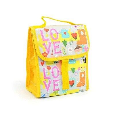 Bolsa Térmica Dobrável Love