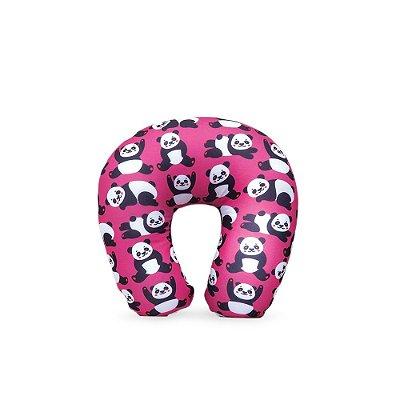 Almofada de Pescoço Panda Pink