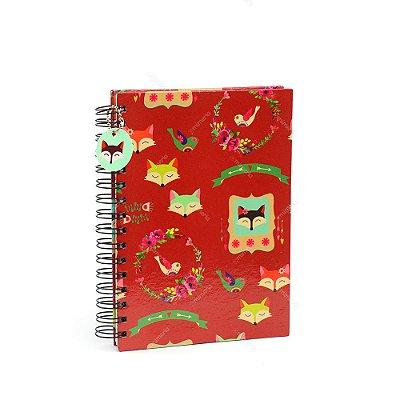 Caderno de Anotações Raposas Petit Fox