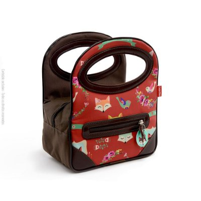 Mini Bolsa Térmica Raposas Petit Fox