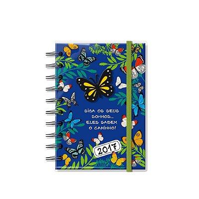 Agenda Pequena Borboletas no Jardim 2017