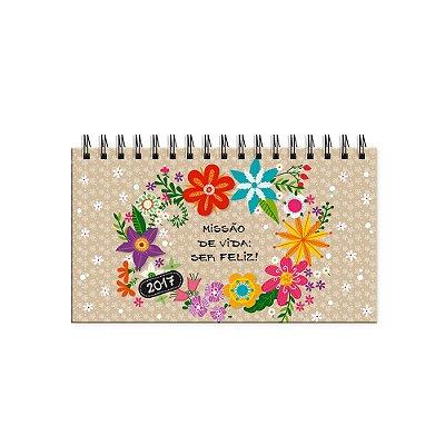 Agenda Mini Flora 2017