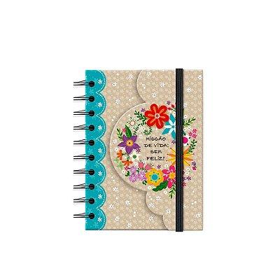 Caderneta Recortada Flora