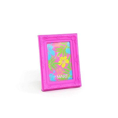 Porta Retrato Vintage Rosa Neon 10x15