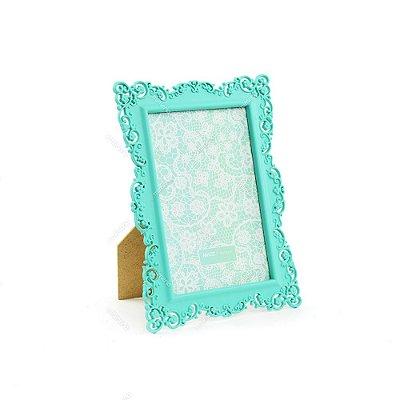 Porta Retrato Ornamentado Verde Candy 10x15