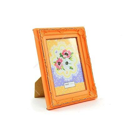 Porta Retrato Vintage Candy Laranja 13x18