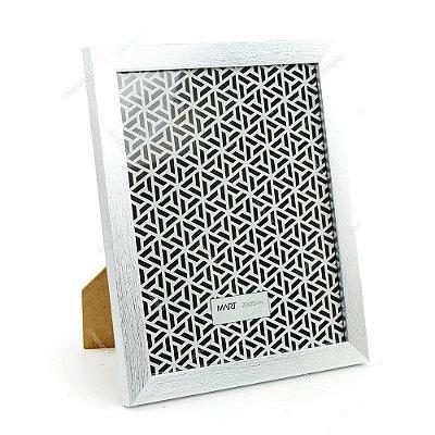 Porta Retrato Prata Escovado 20x25
