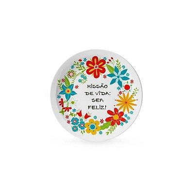 Pratinho Decorativo Pequeno Flora
